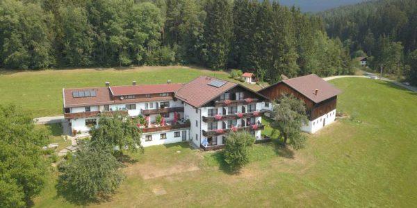 Luftaufnahme Hotel