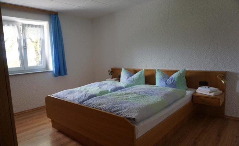 Ferienwohnung Schlafzimmer 2: Doppelbett, 2 Personen