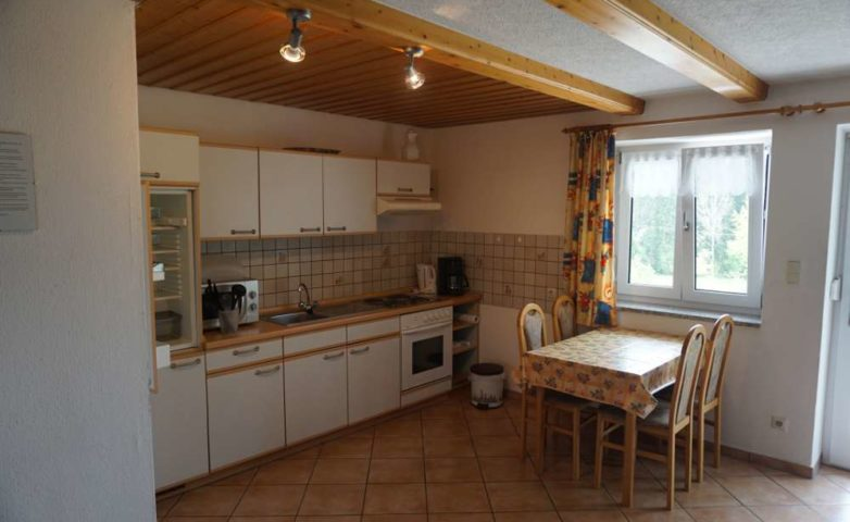 Ferienwohnung Arnbruck Küchenbereich