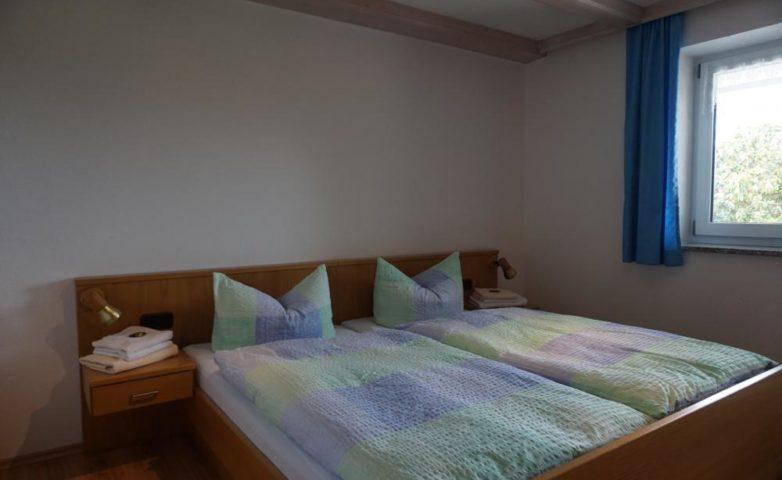 Ferienwohnung Schlafzimmer 1: Doppelbett, 2 Personen