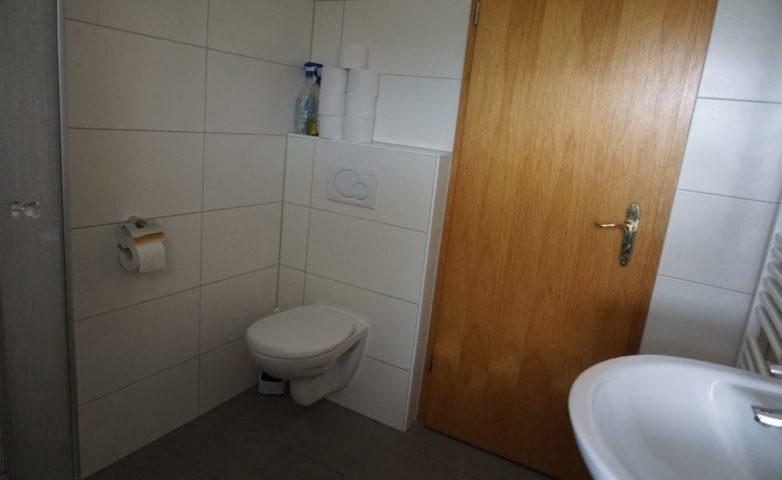 Ferienwohnung mit Dusche und WC